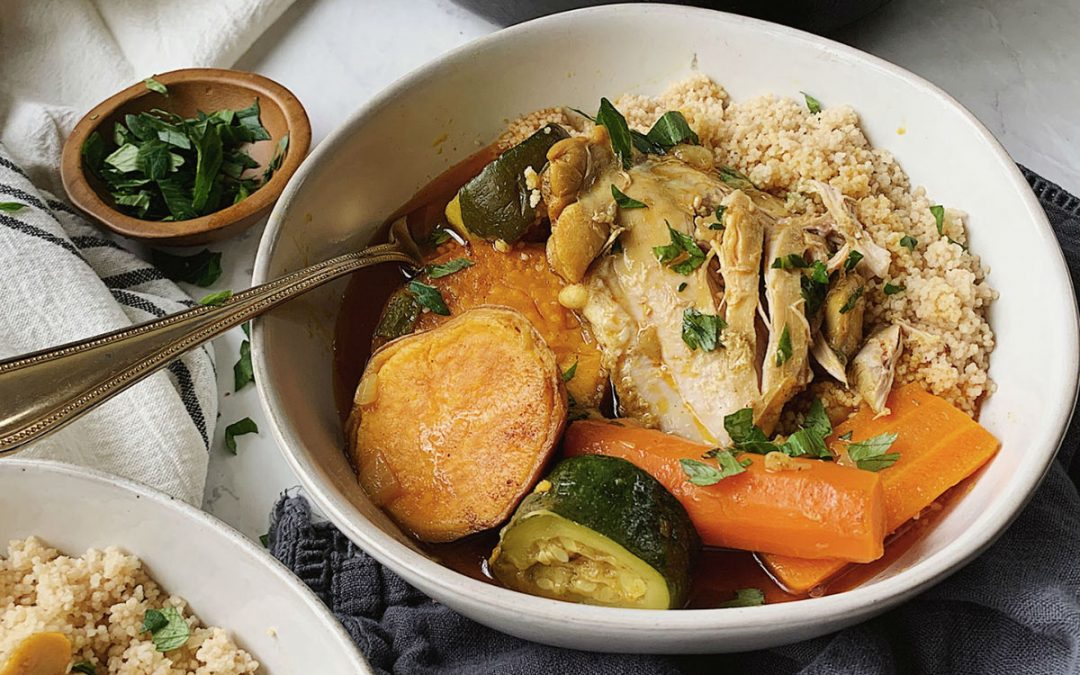 Moroccan Couscous And Chicken Jmore